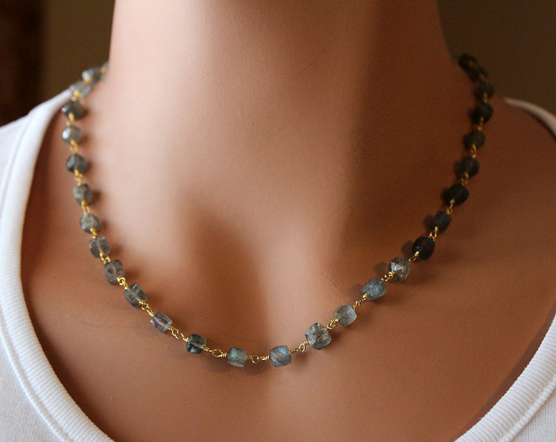 il products necklace labradorite wrapped fullxfull grande grey beaded gold strand gemstone rosary filled style flash wire