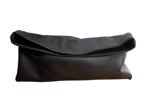 Minimalist,goatskin,clutch,,dark,brown,mens bag,leather bag,leather clutch,brown leather clutch,handmade leather bag,women leather bag,minimalist fashion,minimalist leather clutch