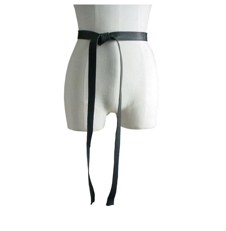 Black Leather Neck Tie Leather Skinny Necktie Black Leather Tie 's Authentic Old School Skinny Soft Leather Skinny Tie leather BoTikken. 5 out of 5 stars Vintage Gray Leather Skinny Tie, Gray Leather Men's Necktie, Thin Necktie s VintTrip. 5 .