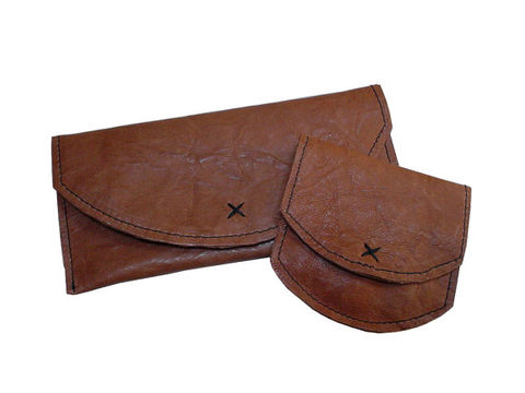 Textured,goatskin,wallet,set,handmade leather wallet,goatskin wallet,matching wallet,leather coin purse,tan leather wallet,wallet set