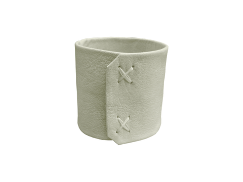 "Essential 2"" wide lambskin cuff, ivory - product images  of"