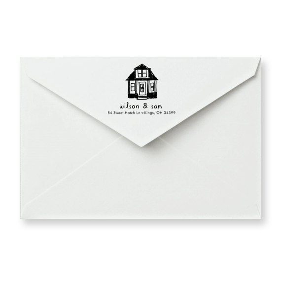 Home Sweet Home Address Stamp - product images  of