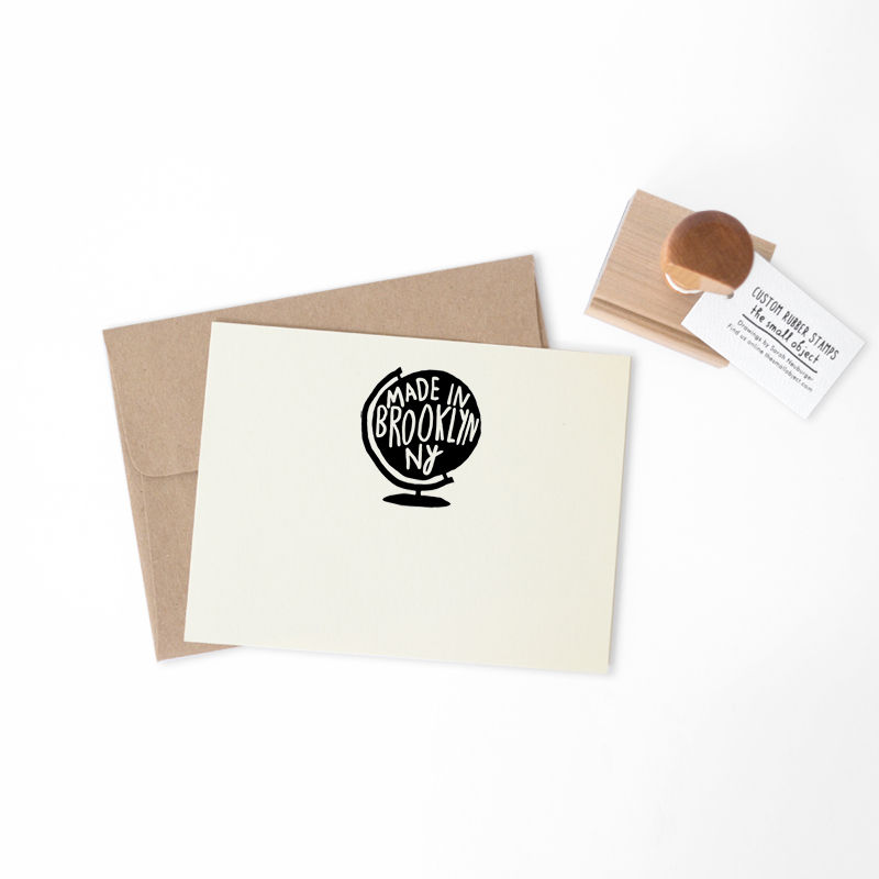 World Globe Stamp - product images  of