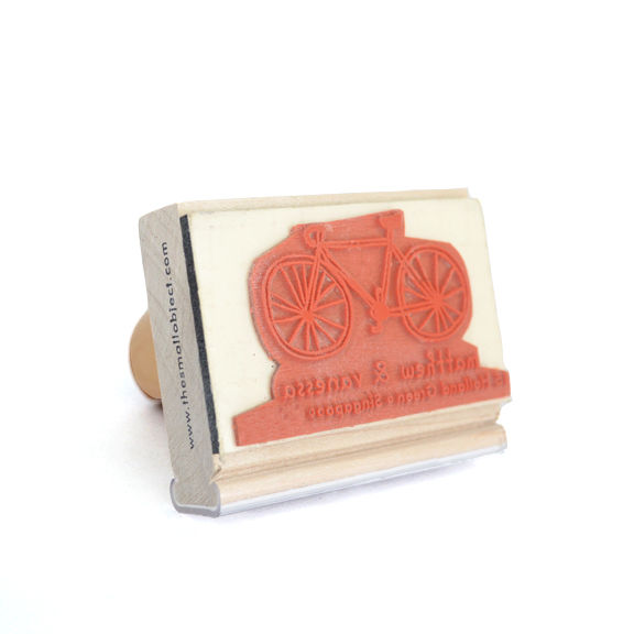Bike Address Stamp - product images  of