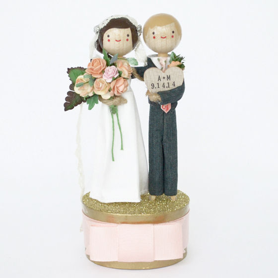 Custom Wedding Cake Topper - product image