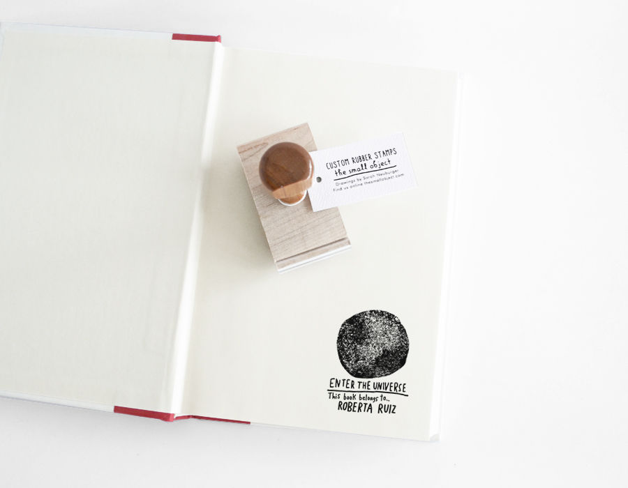 Full Moon Book Stamp - product images  of