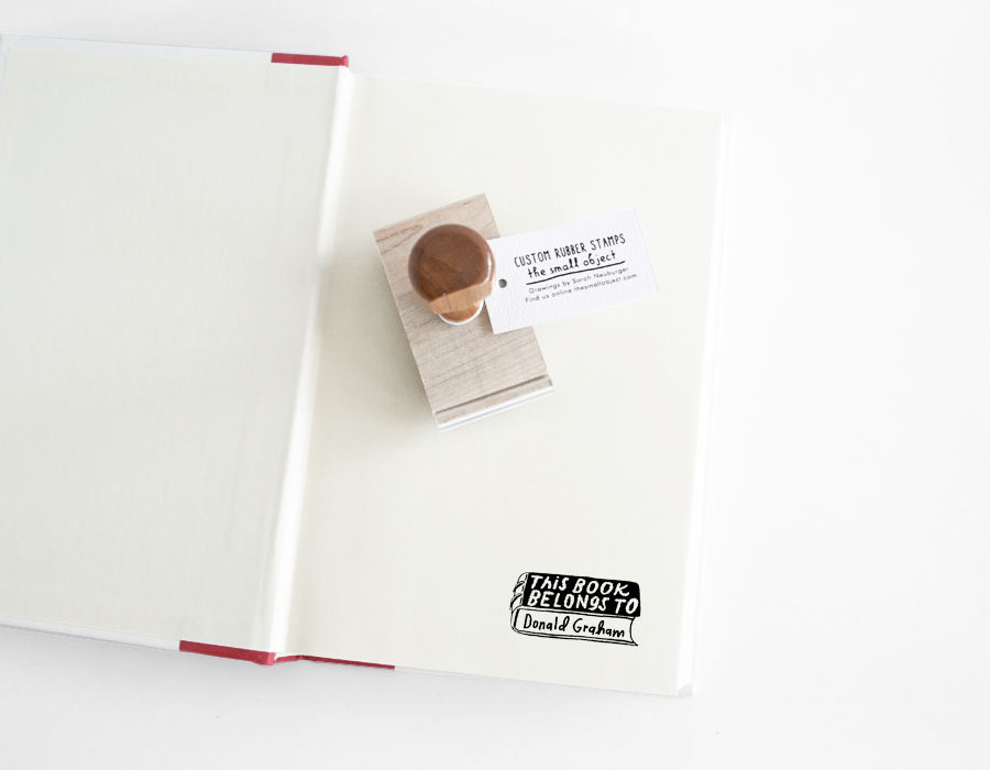 This Book Belongs To Stamp - product images  of