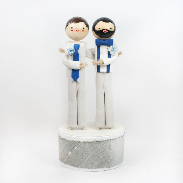 Custom Wedding Cake Topper - product images  of