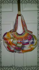 Crocheted,Hobo,Purse