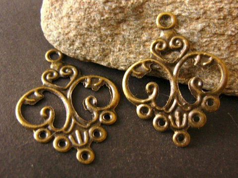 Antique,Bronze,24x13mm,Filigree,Chandelier,Earring,Setting,Findings,jewelry_findings,antique_bronze_findings,chandelier_setting,earring_settings,31x24mm,connector,metal_link,31mm_stamping,pendant,antique_bronze,craft_supplies,bead_store,Beads2string,beads to string,earring_component,base_metal_findings