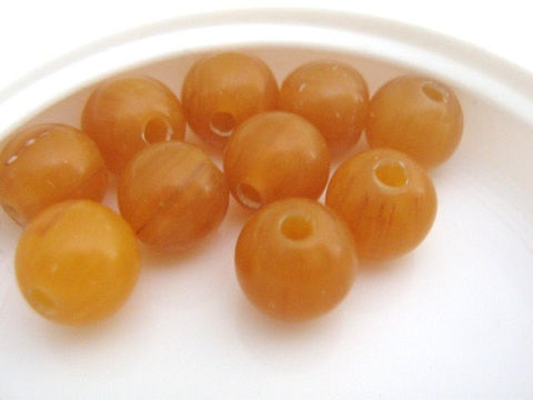 Butterscotch,Brown,8mm,round,Vintage,Lucite,Beads,Bead,vintage_beads,lucite_beads,brown_vintage_bead,amber_beads,vintage_round_beads,8mm_round_bead,1950s_beads,butterscotch_vintage_beads,old bead stock, bead supplies,Beads2string,vintage lucite beads, bead store, jewelry making supplies, craft supplies,