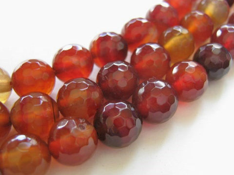 Red,Agate,Beads,8mm,Faceted,Round,Gemstone,agate_beads,red_gemstone,burnt_orange,10mm_round,round_agate,micro_faceted,red_agate_beads,round_red_agate,red_beads,half_strand,jewelry_making, bead store, bead supplies, craft beads, beads for jewelry, jewelry making supplies