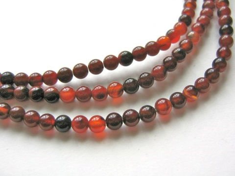 Red,Agate,5mm,Round,Gemstone,Beads,agate_beads,agate_gemstone,red_and_black beads,gemstone_beads,round_agate beads,red_agate_beads,round_beads,natural_gemstone,5mm_beads,bead store, Beads2string