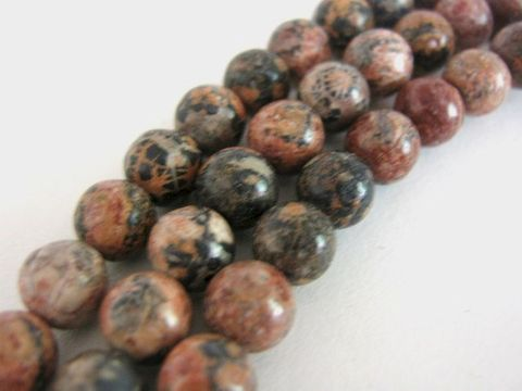 Red,Leopardskin,Jasper,8mm,Round,Gemstone,Beads,Bead,gemstone_beads,red_leopardskin jasper beads,jasper_gemstone,round_beads,8mm round beads, round red beads,red_jasper,red_beads,spotted_jasper,matte_finish,beads2string, bead_store,online_craft_store