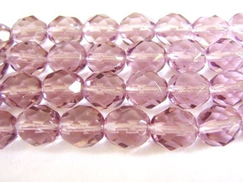 Lavender,Purple,8mm,Faceted,Round,Czech,Glass,Beads,beads,czech_glass_beads,purple_glass_beads,glass_beads,lavender_czech_beads,8mm_round,faceted_round,firepolished,purple_beads,light_purple_beads,round_glass_beads,craft_supplies