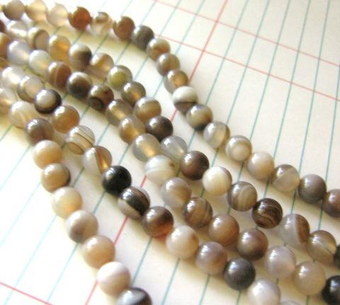 Botswana,Agate,6mm,Round,Beads,Brown,Gemstone,brown gemstone, botswana agate beads, agate beads, brown agate beads, round agate beads, round botswana agate, Beads2string, 6mm round beads, brown beads, round beads, round gemstone, botswana agate