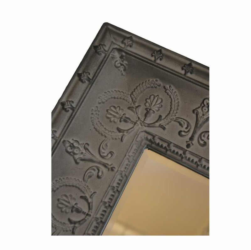 Embossed Metal Wall Art Embossed Metal Wall Mirror
