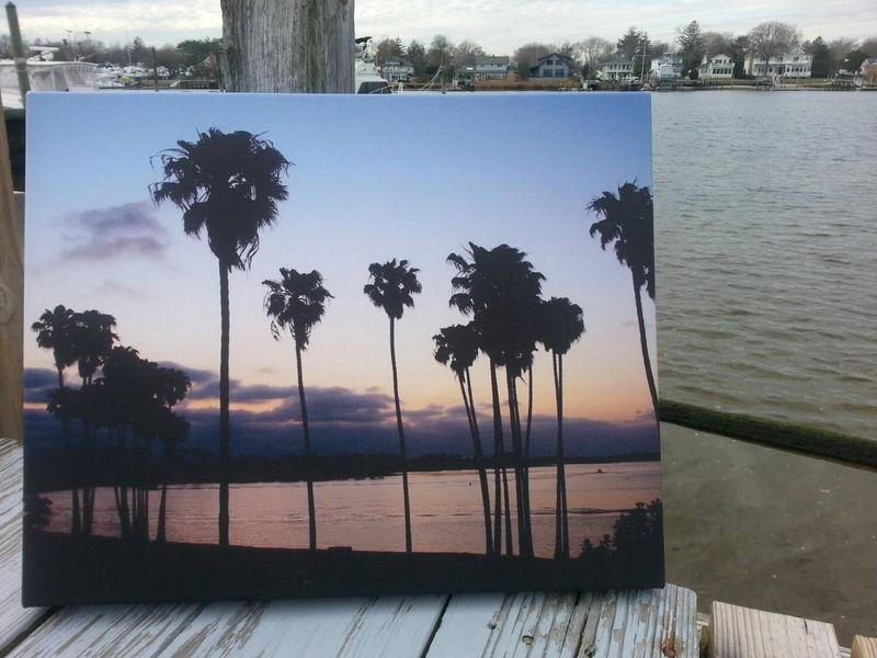Mission Bay Sunset, San Diego, I Left My Soul there, wall art, beach ...