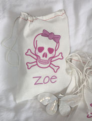 Personalized,Skull,Girl,Favor,Bag,Bags_and_Purses,skull,girl_skull,pirate_party,pirate_girl_party,etsynj_team,birthday_party,personalized,goody_bag,favor_bag