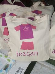 Slumber,Party,Tote,Bags-,Favor,bags_and_purses,totes,tote_bags,kids_totes,goody_bags,slumber_party,sleep_over,personalized,party_favors,loot_bags,etsynj_team,custom,custom_kids_totes,girl