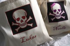Pirate,Tote,Bags-,Custom,Names,holidays,halloween,bag,trick_or_treat_bag,pirate,skull_and_crossbone,halloween_partyfavor,skull,personalized_totes,etsynj,halloween_tote