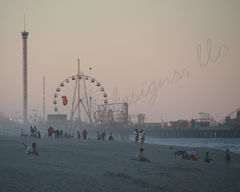 Late,Day,Fog,along,the,Shore,Art,Photography,Nature,coastal,beach_house,beach,shore,coast,coastal_nj,coastal_new_jersey,jersey_shore,new_jersey,etsynj_team,funtown_pier,seaside_heights,ferris_wheel