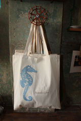 Summer,Love,Seahorse,Tote,Bags,Bags_and_Purses,seahorse,seahorse_tote,wedding,summer,beach