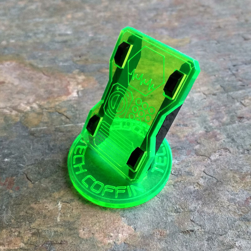 Sci-Fi objective Markers - Tech Coffin 4 pack - product images  of