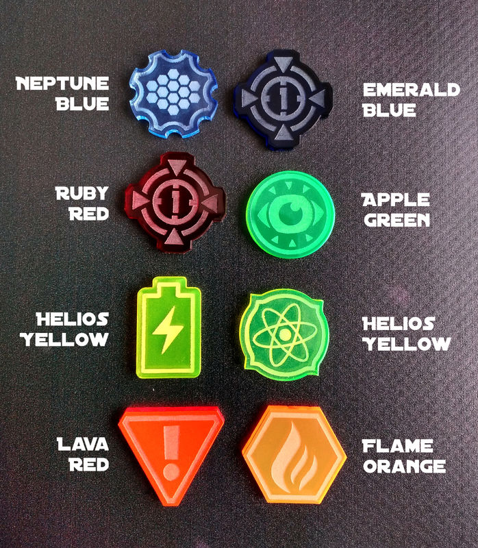 X-Wing compatible laser cut tokens Pick N' Mix - product images  of