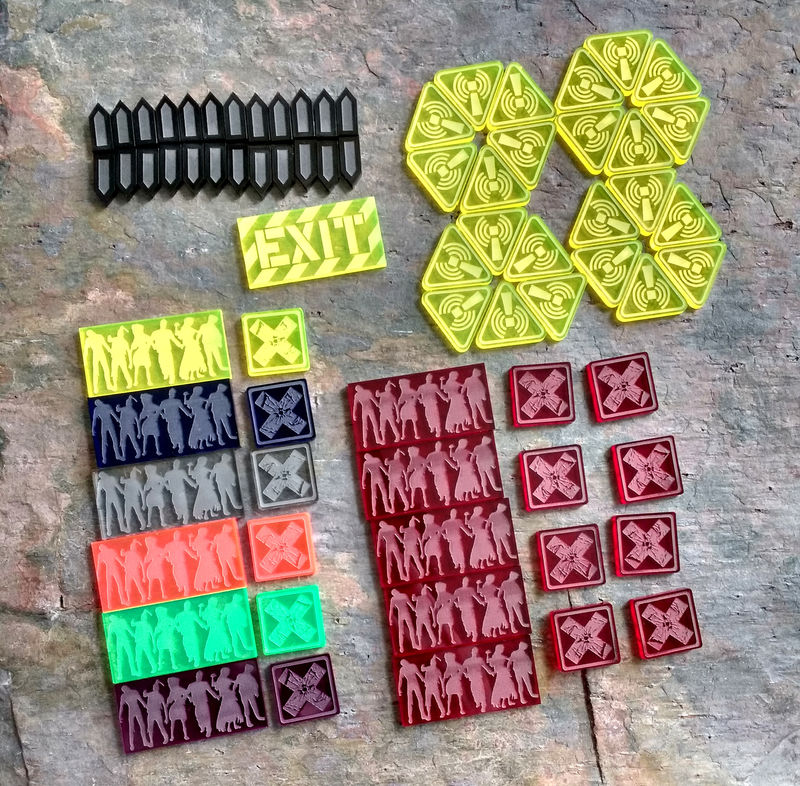 Zombicide token set (74 Tokens) - product images  of