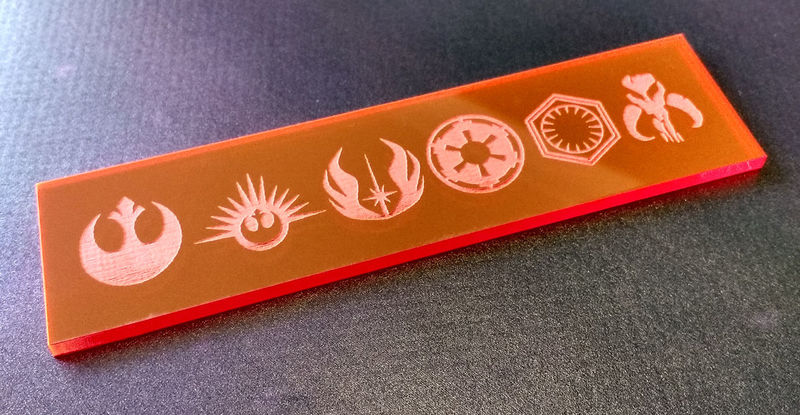 X-wing dial covers - product images  of