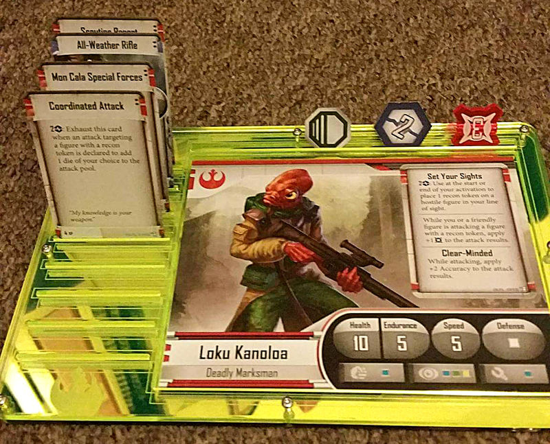Imperial Assault Dashboard (single) - product images  of