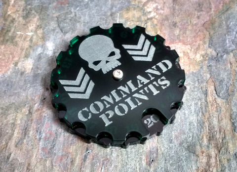 Command,Dial,(0-20),40k, wargames, command points, dial