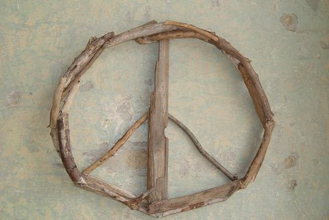 Driftwood,Peace,Sign,Door,Decor,,Wreath,,Wall,Art,Peace Sign, Art, Wall hanging, Eco Art, Green Art, Driftwood Art, Driftwood Peace Sign, Wood Art, Found Wood Art, Sculpture, !8 Art, 18 Peace Sign