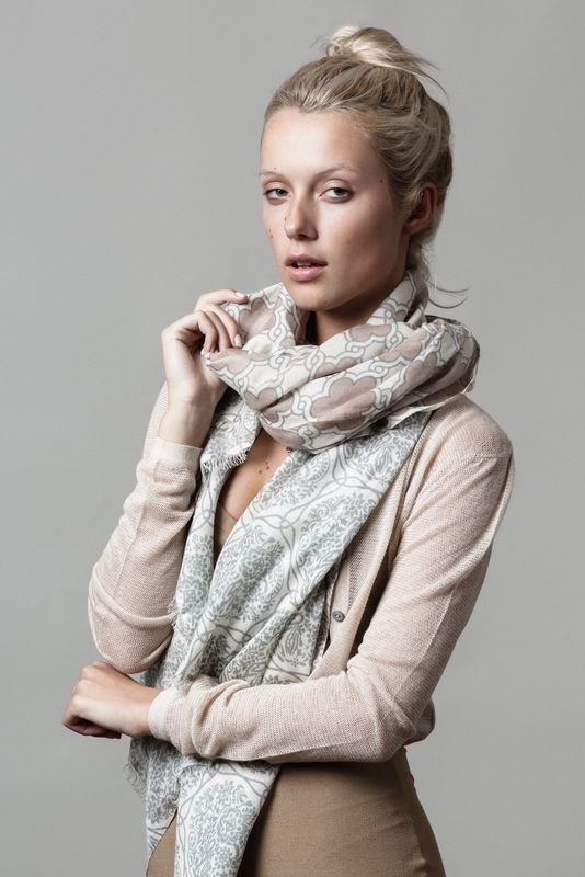 Plum Fossil scarf - product images  of