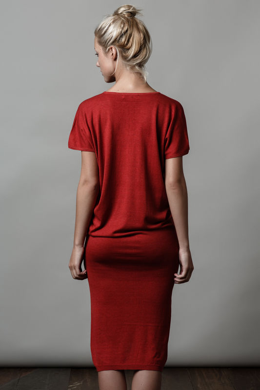 Clovit Dress, Cherry Red. - product images  of