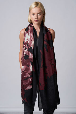 Big Flower Scarf - product images  of