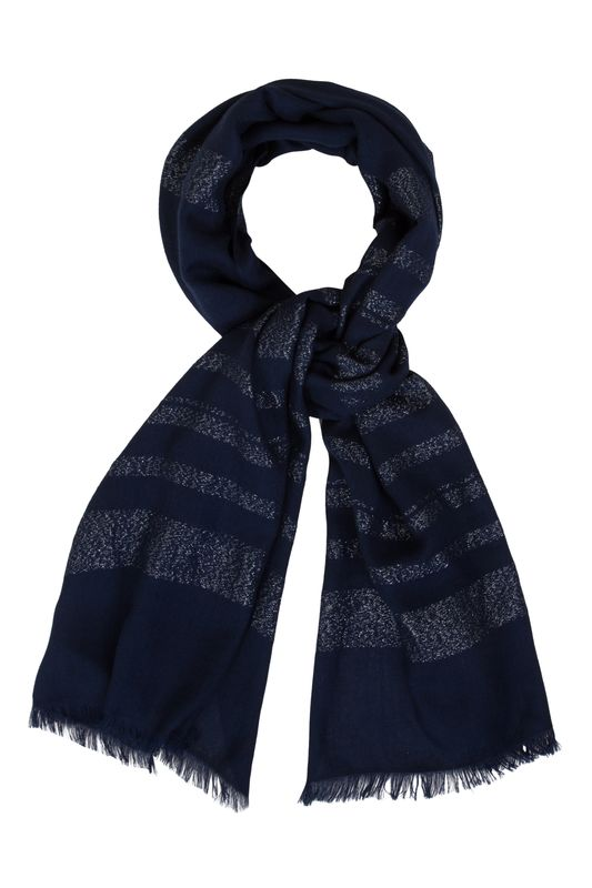 Pamela Navy Scarf - product images  of