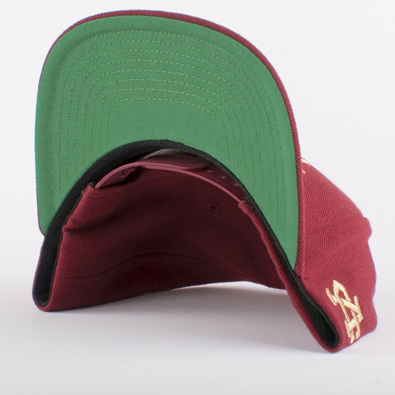 All City Maroon Snapback - product images  of