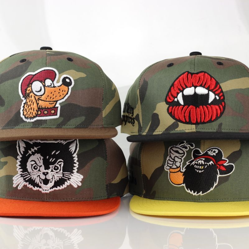 All City Teams Camo Snapback - product images  of