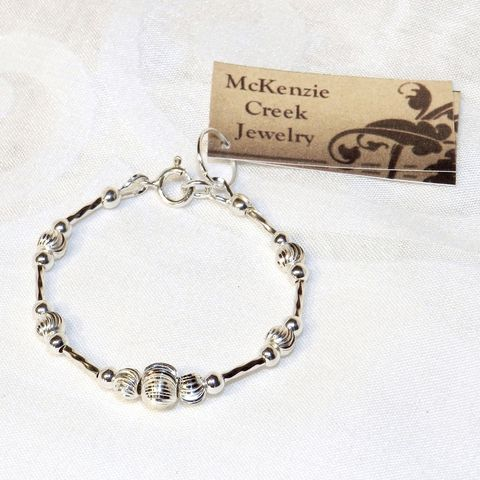 Sterling,Silver,Baby,Bracelet,-,Heirloom,Gift,One,of,a,Kind,Jewelry, Bracelet, baby bracelet ,newborn gift, infant bracelet, sterling silver, silver braceletnew baby gift, baby jewelry, new Mom gift, heirloom gift, sterling silver bracelet