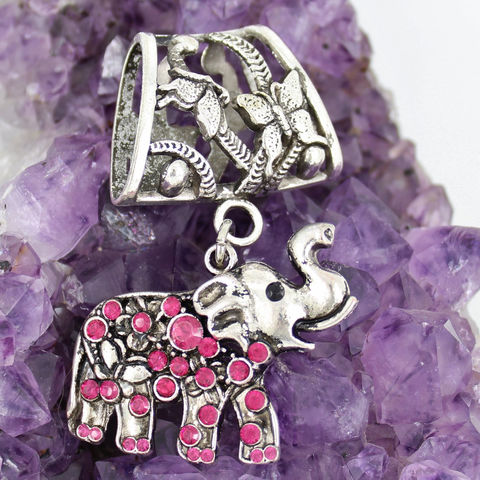 Elephant,Scarf,Jewelry,with,Hot,Pink,Rhinestones,~,Antique,Silver,Accessory,Accessories,scarf_charm,scarf_accessory,scarf_pendant,scarf_jewelry,scarf_slide,scarf_bling,elephant_pendant,elephant_jewelry,elephant_slide,animal_jewelry,crystal_elephant,rhinestone_elephant,hot_pink_crystal,pink rhinestone pendant,antique silver