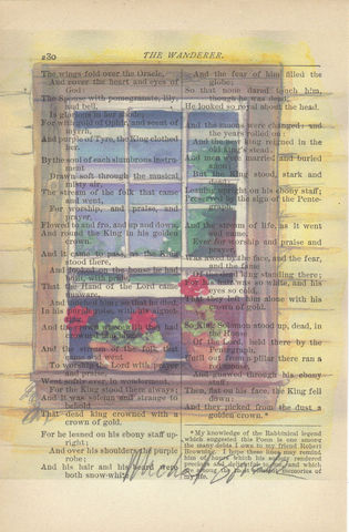 Sunny,Window,Watercolor,Printed,on,Antique,Book,Page,Art,Painting,Print,rustic,window,red_geraniums,watercolor,illustration,red_flowers,home_decor,wholesale,floral,watercolor_art,watercolor_scene,floral_illustration,landscape_art,antique_book_page