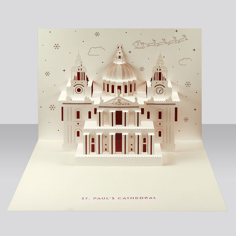 St,Paul's,Pop-Up,Card,-,Christmas,edition,by,Paper,Tango,pop-up card