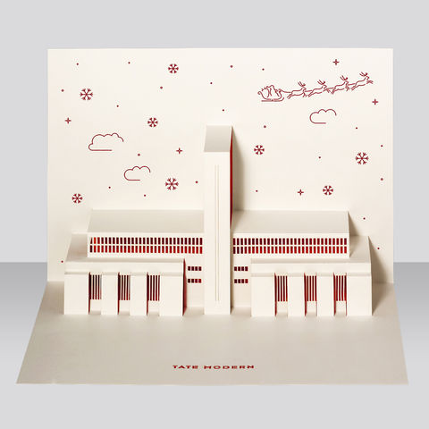 Tate,Modern,Pop-Up,Card,-,Christmas,edition,by,Paper,Tango,pop-up card