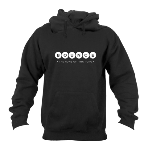 Bounce,'Home,of,Ping,Pong',Hoodie,Unisex,Black, Home of Ping Pong, Hoodie, Unisex, Black, Ping Pong Club, Table Tennis Club, London, Holborn