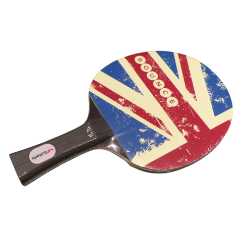 Union,Jack,Bat,Bounce, Bat, Union Jack, Flag, Butterfly, Home of Ping Pong, Ping Pong club, Table Tennis, London, Holborn