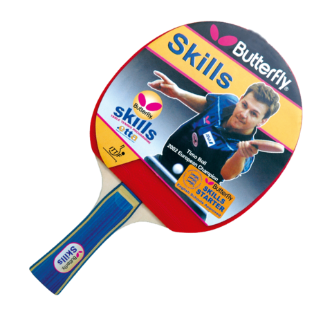 Butterfly,Skills,Starter,Table,Tennis,Bat