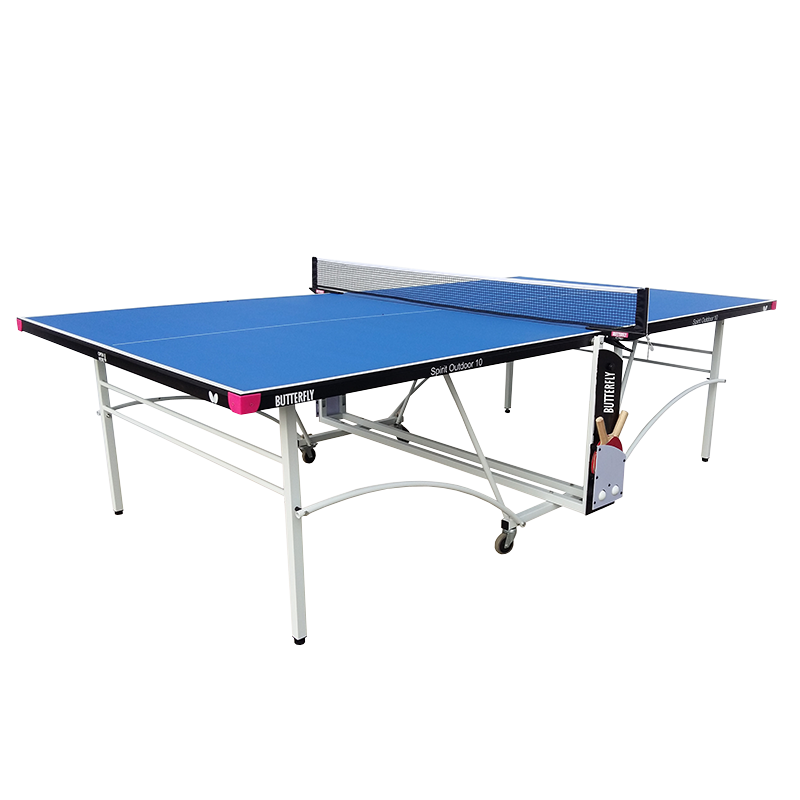 Butterfly Spirit 10 Outdoor Rollaway Table Tennis Table - Bounce Shop