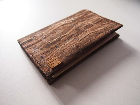 Paralife,YOUR,NAME's,Wooden,Grain,Cork,Passport,Cover